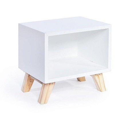 Nicho Retro Branco 20x15x19 - 2 Unidades
