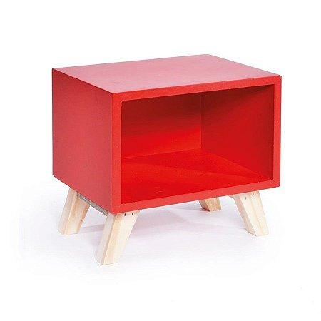 Nicho Retro Vermelho 20x15x19 - 2 Unidades