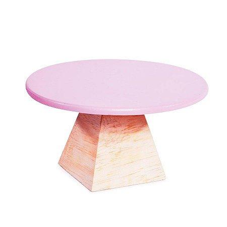 Boleira Triangulo Rosa Grande 25x25x13 - 1 Unidade