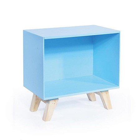 Nicho Retro Azul Médio 24,5x15x25 - 1 Unidade