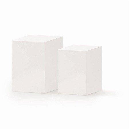 Conjunto de Cubos Branco - 1 Unidade