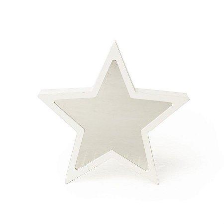 Luminoso Infinito Estrela Branco 18X2,5X17 C/1 Un