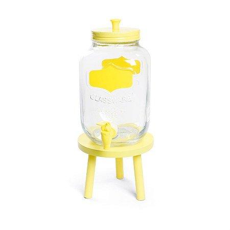 Suqueira com Banquinho Amarelo - 1 Unidade
