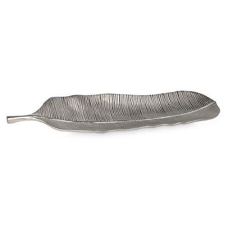 Bandeja Alumínio Folha Bananeira M