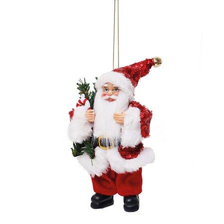 Noel com Pinheiro e Candy Cane Vermelho M - Jogo com 3 Peças