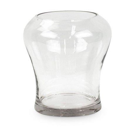 Vaso de Vidro Onda P