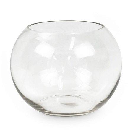 Aquário de Vidro Transparente P