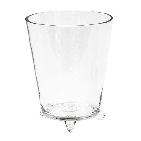 Vaso de Vidro Cônico G