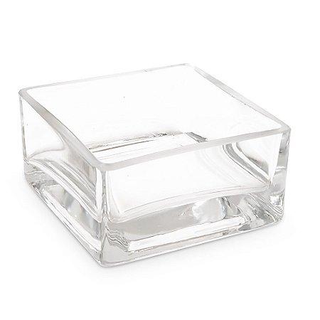 Vaso de Vidro Transparente Centro de Mesa P