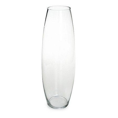 Vaso de Vidro Transparente Oriental P