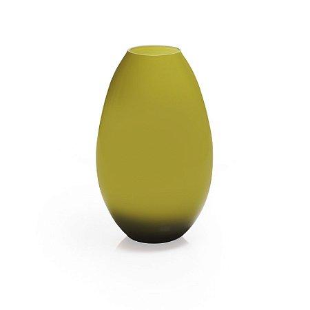 Vaso de Vidro Oriental Verde M