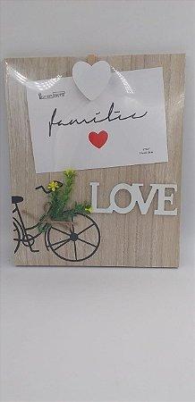 Porta Retrato 10x15 Madeira Love