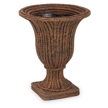 Vaso Terracota Vergalhão Alto