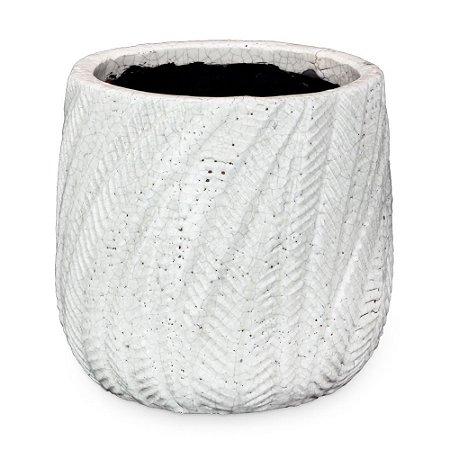 Vaso de Cerâmica com Ondas M