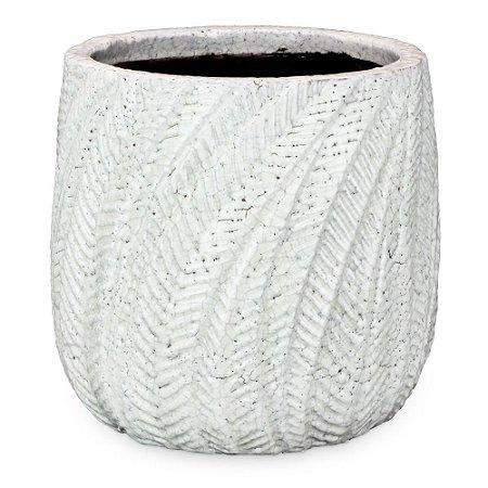 Vaso de Cerâmica com Ondas G