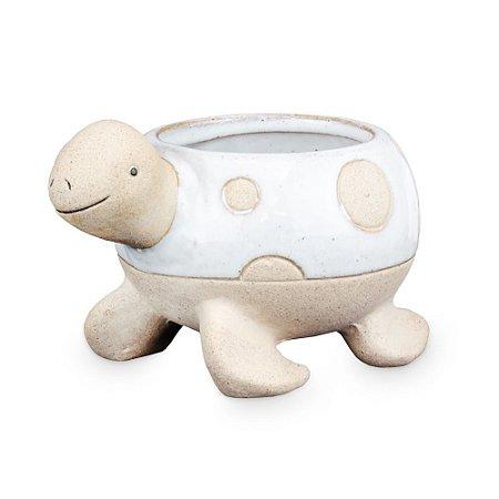 Vasinho de Cerâmica com Tartaruga M