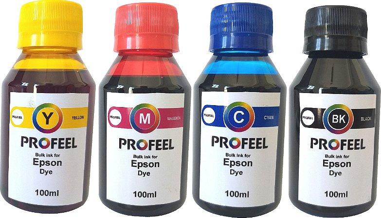 Tinta Corante Profeel para epson 400ml