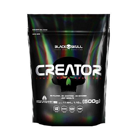 Creatina Creator  Refil (500g) - Black Skull (Importada)