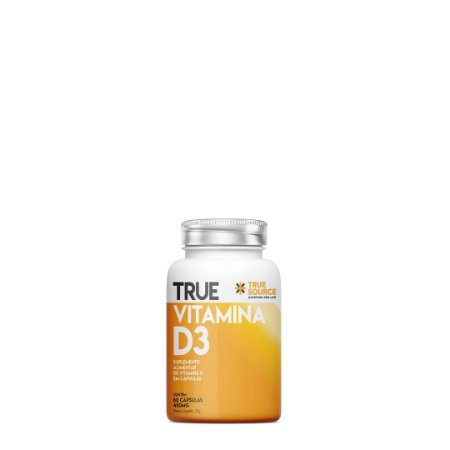 True Vitamina D3 (60 cáp) - True Source
