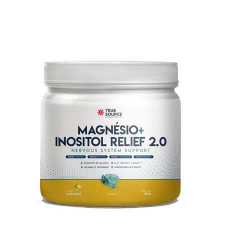 True Magnésio + Inositol 2.0 (375g) -True Source
