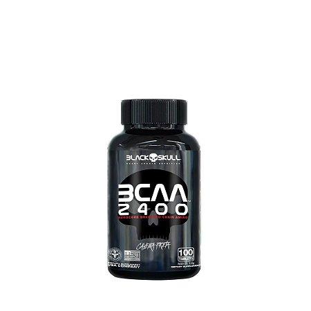 Bcaa 2400 (100 Tabletes) - Black Skull