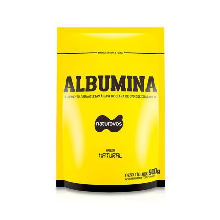Albumina Natural (500g) - Naturovos