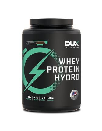 Whey Protein Isolado e Hidrolisado (900g) - Dux Lab