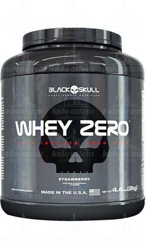 Whey Zero Isolado 2kg  Black Skull