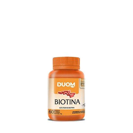 Biotina (60 Cáps) - Duom