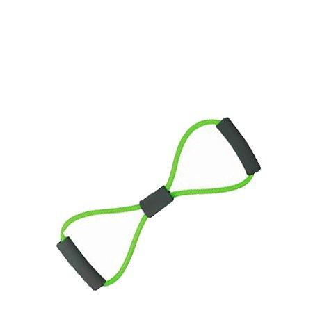 Extensor Elástico em 8 Verde (Tensão Leve) - Rope Store