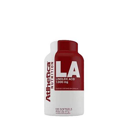 LA Óleo de Cártamo (120 Softgel) - Atlhetica Nutrition
