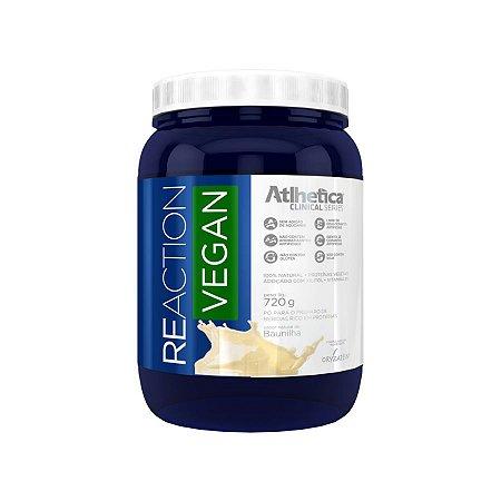 Reaction Vegan (720g) - Atlhetica Nutrition Baunilha