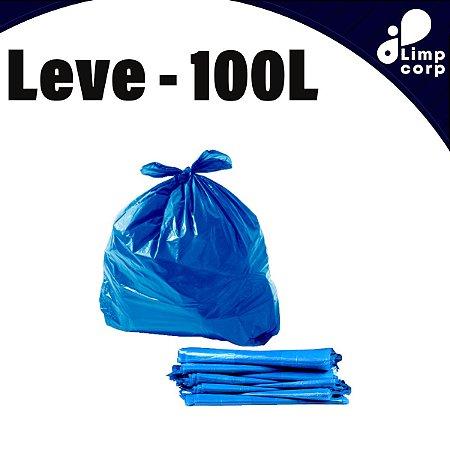 Saco para Lixo - 100 Litros - Leve