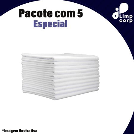 Pano de Chão Especial - Pacote Com 5