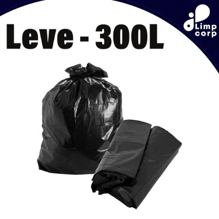 Saco para Lixo - 300 Litros - Leve
