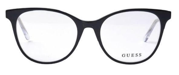 Óculos Guess Cristal Preto e Transparente GU 2734 003 51