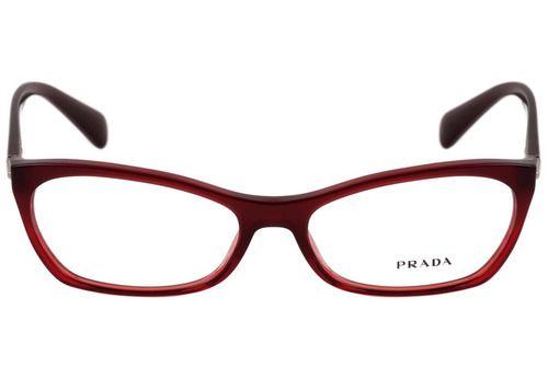 Óculos Prada PR15PV MAX1O155 Vinho