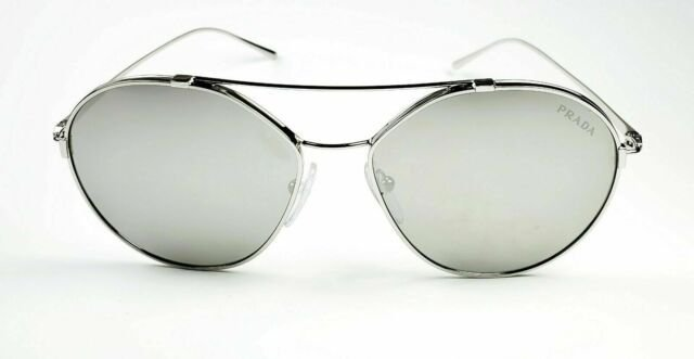 Óculos solar metal Prada spr56u 1bc280 Prata