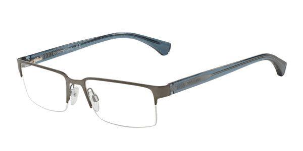 Óculos Emporio Armani Metal com nylon EA 1037 3114 Grafiti