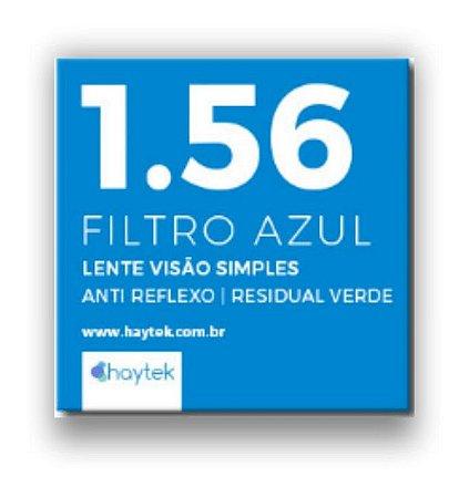 Lente 1.56 Filtro Azul com Cilíndrico Estendido