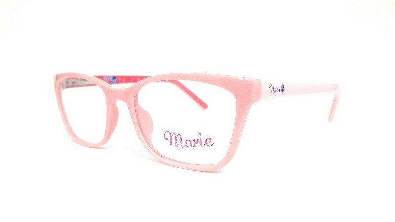 Óculos Infantil Disney Marie MR3 4053 C8c2m Rosa Claro