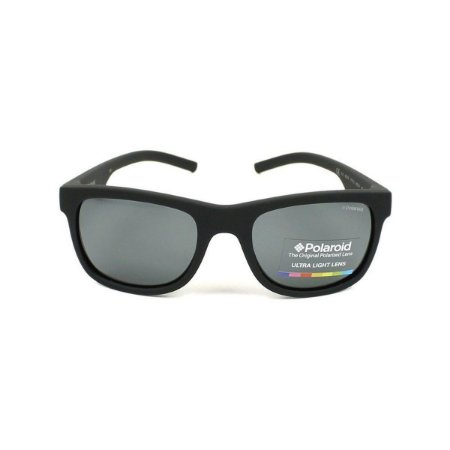 Solar Polaroid PLD 6015/S YYV Y2 3 Preto fosco lentes polarizadas