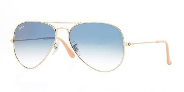 Óculos Solar Ray Ban Aviador 3025L 001/3F62 Dourado