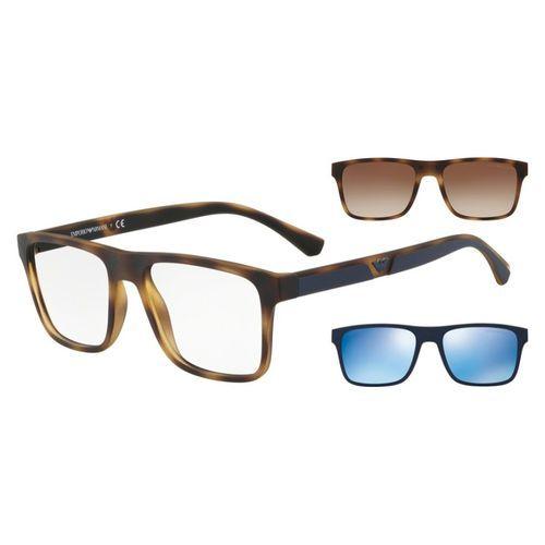 Óculos Emporio Armani com Clip On EA 4115 5089/1W Tartaruga
