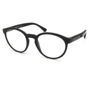 Óculos Emporio Armani com Clip On EA 4152 5801/1W Preto