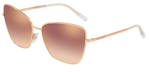 Solar Dolce&Gabanna DG 2208 12986f62 Metal rosé com lente espelhada