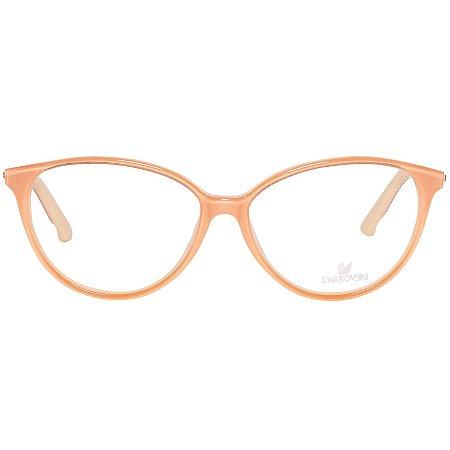 Óculos Feminino Swarovski Frida SW 5136 044 Laranja