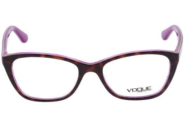 Óculos Feminino Vogue vo 2961 2019 Tartaruga com roxo