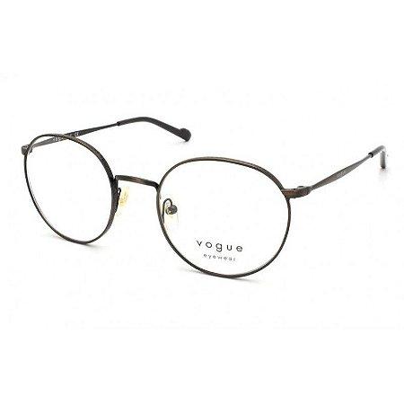 Óculos Vogue vo 4183 5135 Metal cobre redondo