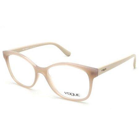 Óculos Feminino Vogue VO 5233l 2744 Nude